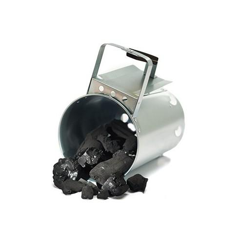 Canestro Accenditore in acciaio inox