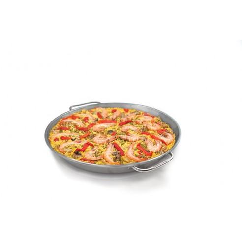 Paella Pan realizzato in acciaio inox